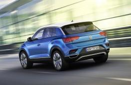 Volkswagen T-Roc, 2017, rear