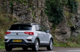 Volkswagen T-Roc, 1.0 TSI Design, 2017, rear