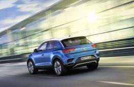 Volkswagen T-Roc, 2017, rear, action