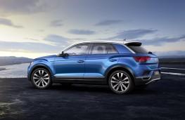 Volkswagen T-Roc, 2017, static, side
