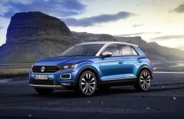 Volkswagen T-Roc, 2017, side, static