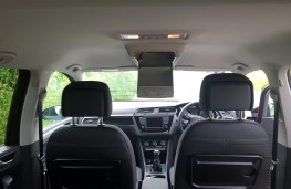 Volkswagen Touran 2016, roof storage