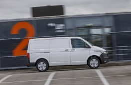 Volkswagen Transporter T6.1, 2019, panel van, side