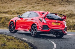 Honda Civic Type R GT, rear, cornering
