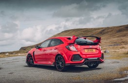 Honda Civic Type R GT, rear