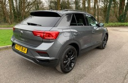 VW T-Roc Black Edition, 2021, rear