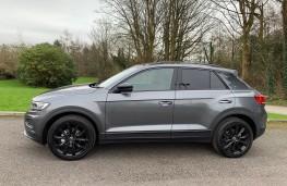 VW T-Roc Black Edition, 2021, side, static