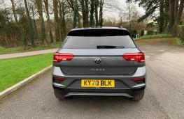 VW T-Roc Black Edition, 2021, tail