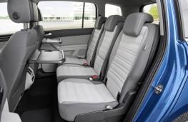 Volkswagen Touran 2016, seats