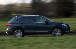SEAT Tarraco, 2019, side, action