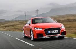 Audi TT RS, front, action
