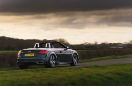 Audi TT Roadster, 2019, rear