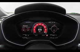 Audi TT RS, virtual instrument panel, RS display