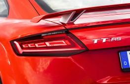 Audi TT RS, OLED rear light