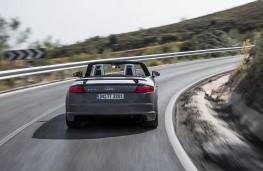 Audi TT RS, 2016, roadster, rear, action