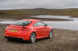 Audi TT RS, rear, static