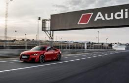 Audi TT RS, 2016, coupe, Jarama track, action