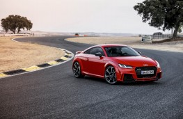 Audi TT RS, 2016, coupe, side, track, static