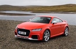 Audi TT RS, side, static