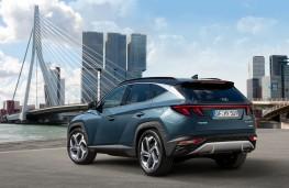 Hyundai Tucson, 2020, rear