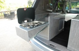 SsangYong Turismo Tourist Camper, 2016, cooker