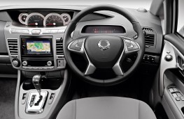 Ssangyong Turismo, dashboard