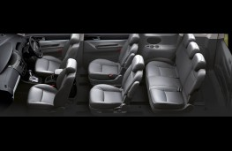 SsangYong Turismo, seating arrangement