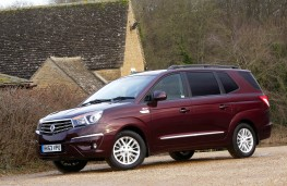 SsangYong Turismo, side, static