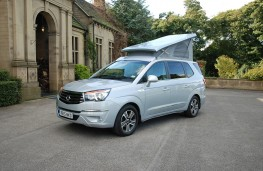 SsangYong Turismo Tourist Camper, 2016, side