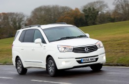 SsangYong Turismo, side, action