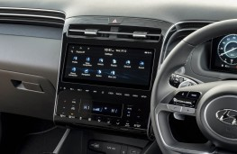 Hyundai Tucson, 2021, display screen