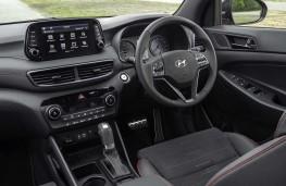 Hyundai Tucson, interior, auto