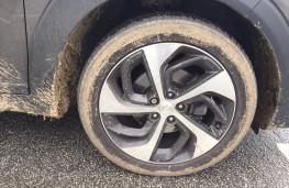 Hyundai Tucson, wheel