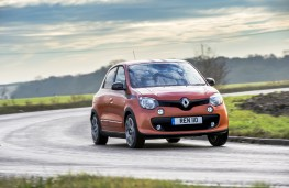 Renault Twingo GT, 2017, action