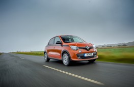 Renault Twingo GT, 2017, front, action