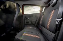 Renault Twingo GT, 2017, rear seats