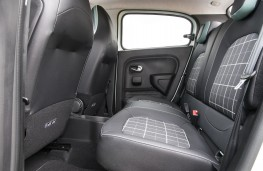 Renault Twingo Iconic, 2017, rear seats
