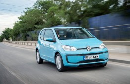 Volkswagen Move up!, 2016, front, action