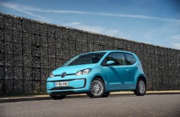 Volkswagen Move up!, 2016, front, static