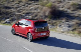 Volkswagen up! GTI, 2018, rear, action