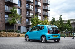 Volkswagen Move up!, 2016, rear, static