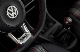 Volkswagen up! GTI, 2018, steering wheel