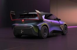 Cupra UrbanRebel Concept, 2021, rear