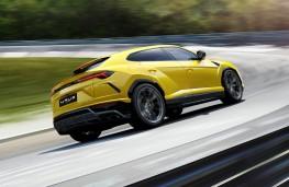 Lamborghini Urus, 2018, rear, action