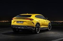 Lamborghini Urus, 2018, rear, static