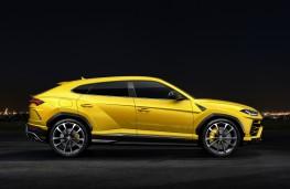 Lamborghini Urus, 2018, side, static