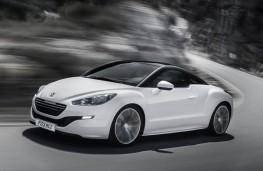 Peugeot RCZ, side, action