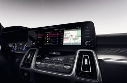 Kia UVO Connect, 2020, display screen