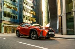 Lexus UX, 2020, front, action
