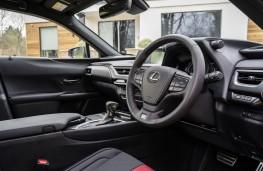 Lexus UX 250h, 2021, interior